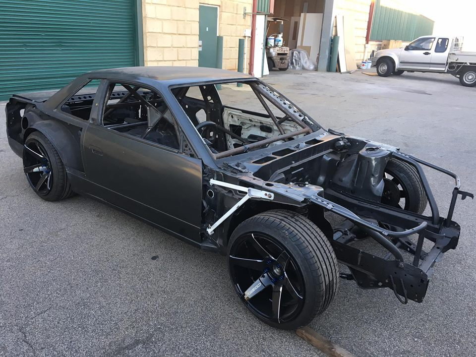 CAMS Cage for S13 Drift Car