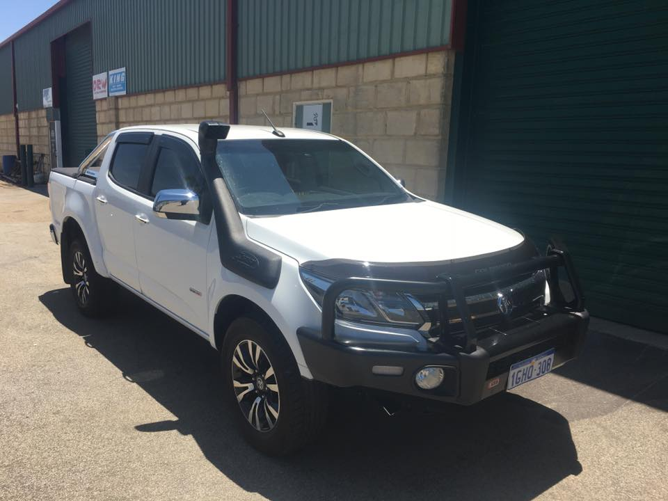 Holden Colorado Body Mount Chop